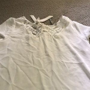 Lauren Conrad cream top